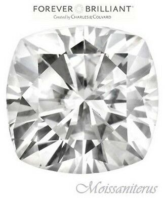 On Sale! 11mm Cushion Cut Forever Brilliant Moissanite = 6.70 Carat Diamond