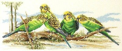 Budgie Buddies -  Cross Stitch Chart - Country Threads