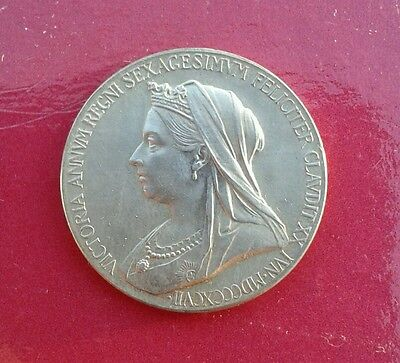Victoria 60Years Reign Silver Medal