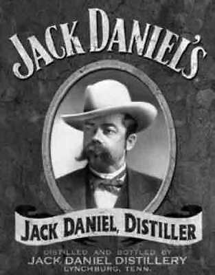 Jack Daniels - Portait - Tin Sign