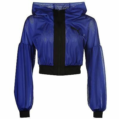 Puma Cover Up DryCell Running Jacket Womens Purple Jogging Track Top Sportswear