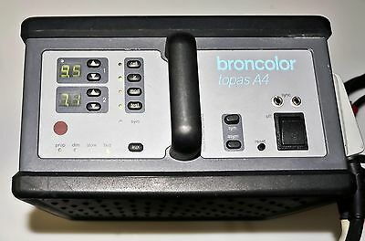Broncolor Topas A4 3200 w/s Power Pack with Power Cord