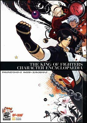 Used The King Of Fighters Character Encyclopedia SNK GAME ART BOOK Japan Import