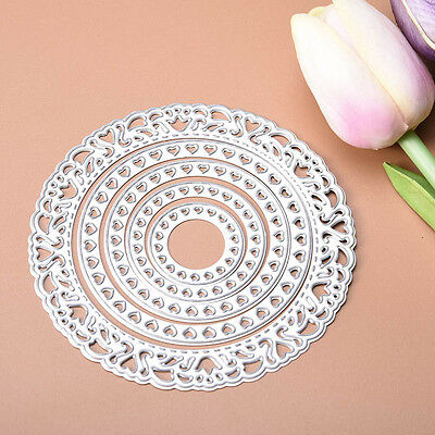 Lace and more round Cutting Dies Stencil For Scrapbooking Paper Card Embossing