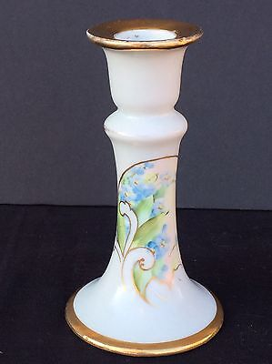 P & P Paroutaud Freres Limoges France Candlestick Candle Holder 1903-1917