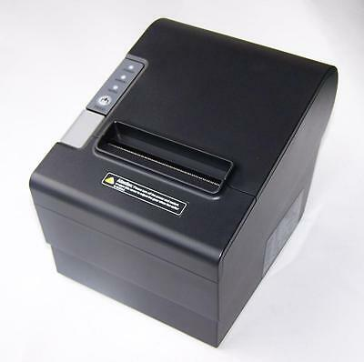 POS Thermal Receipt Printer 80mm Auto Cut Network Serial USB for Point of Sale