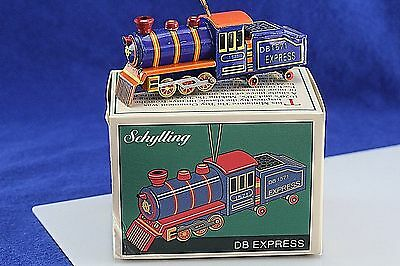 Tin Toy Schylling DB Express Train Christmas Ornament.
