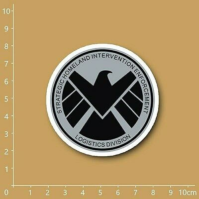 SHIELD Logo Decal Sticker - MARVEL Comics (3 inches)