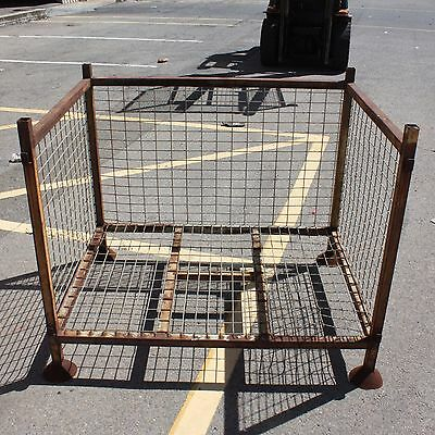 Stackable Stillage Adelaide 800mm x 955mm x 1200mm 3 wall fire wood