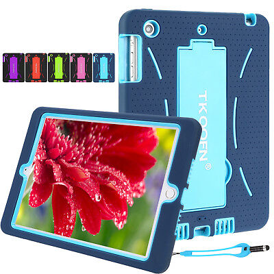 Heavy Duty Kids Shock Proof Case Cover for iPad Air 1/2 | iPad Mini | iPad 4 3 2