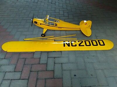 RC Piper Cub a scoppio - apertura alare 2200 mm