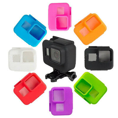 Camera Accessories Soft Silicone Frame Case for Gopro Go pro Hero 5 New 8 Colors