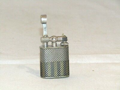 Wire Mesh ''50's''   Japan Sm Petrol Lift  Arm Lighter Collectible