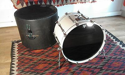 """Premier Projector 24"""" Bass Drum and Le Blond Case"""