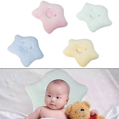 Newborn Infant Baby Pillow Sleeping Support Positioner Prevent Flat Head Cushion