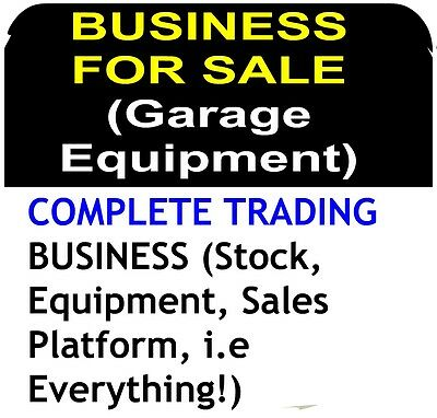 Profitable Manufacturing BUSINESS FOR SALE Garage Equipment Auto Cars