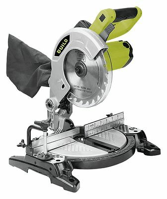 Guild 210mm Compound Mitre Saw - 1200W. From the Official Argos Shop on ebay