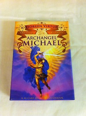 Archangel Michael Oracle Cards by Doreen Virtue. As New.