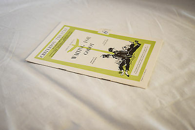 Nice vintage 1950s Criterion Theatre programme: WAITING FOR GODOT