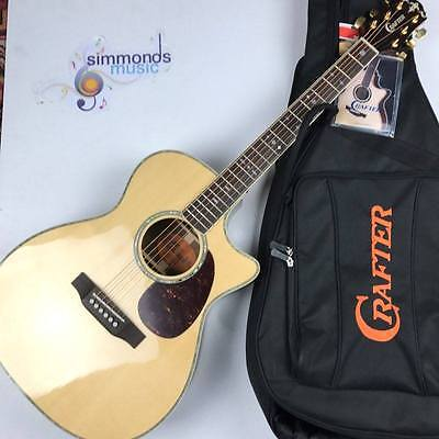 Crafter TC-035 Electro Acoustic Guitar - Includes Crafter Gig Bag
