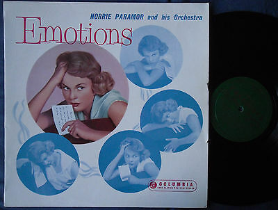 NORRIE PARAMOR & ORCH. Emotions UK LP 1959