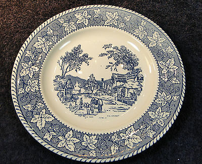 "Homer Laughlin Shakespeare Country Dinner Plate 10 1/4"" Stratwood Collection"