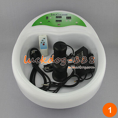 Pro Foot Detox Machine Ion Foot Bath Spa CHI Cell Cleanse LCD Screen Control