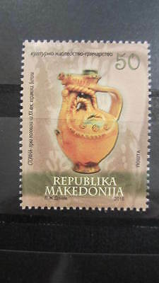 Macedonia Mazedonien 2015  MNH** Ma 686 Cultural Heritage - Pottery