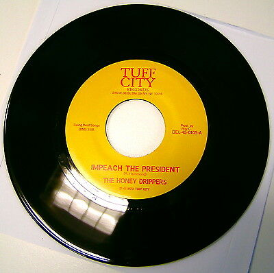 """Honey Drippers Impeach The President  7 """" - Mint"""