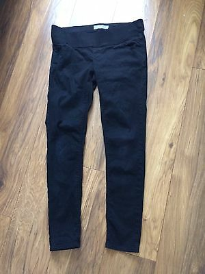 Top shop Maternity Black Skinny Jeans Size 12. Ex.condition