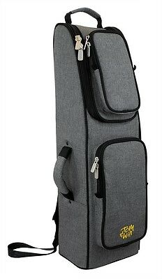 Tom & Will Bassoon Gig Bag 36BA Grey with Red Interior