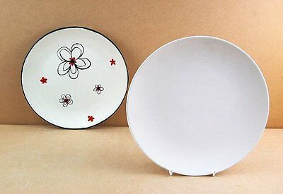 1 Ceramic Bisque Blank 25.5cm Plate to Paint (Will combine postage)