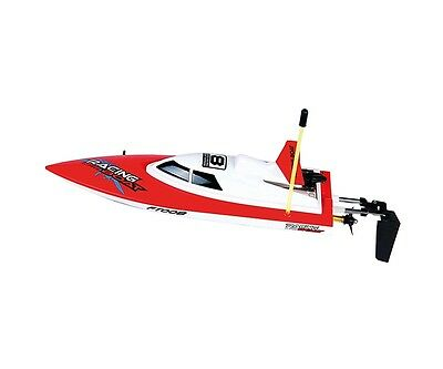 Barco control remoto rojo, High Speed RC boat Size 28 cm