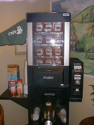 Vending Machine Multi-Max, coffee pods/kcups, soda, snacks