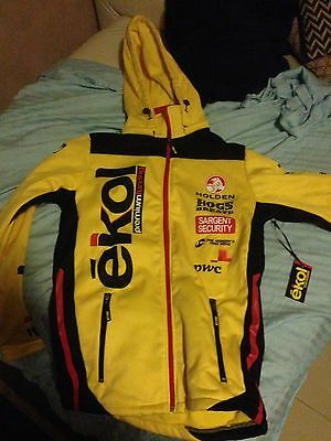 HOLDEN RACING TEAM SOFT SHELL JACKET   LUCAS DUMBRELL          Size S