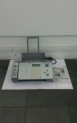 Sharp Fax Machine UX-BD80 with manual instructions