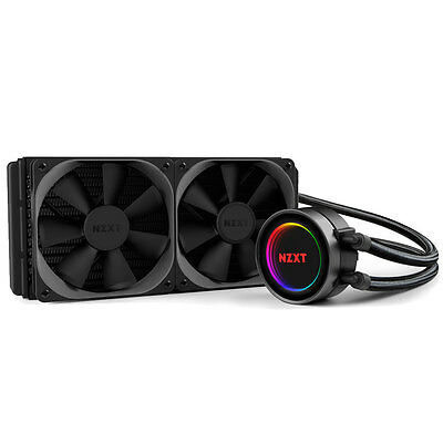 Nzxt Kraken X52 240Mm Aio Rgb Led Water Cooling Unit - Intel & Amd Compatible