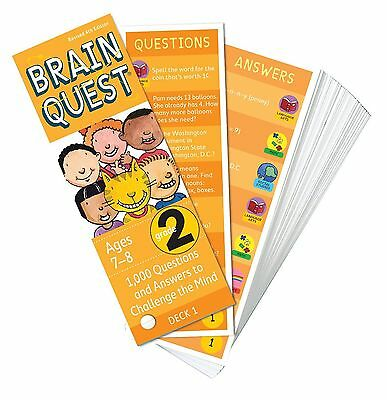 Brain Quest - 2nd Grade - 4th Edition by Workman Publishing (9780761166528)