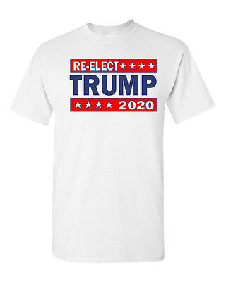 Re-Elect Donald Trump President 2020 Make America Great Again Men's T Shirt 1602