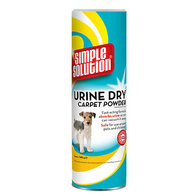 Simple Solution Urine Dry Carpet Powder For Dogs 680g. Sprinkle on & Hoover Off!