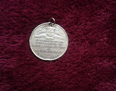 King Edward VIII Coronation medal 1937