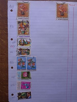 Republic of Maldives  - Various Stamps