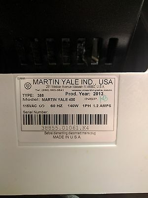 Martin Yale Model 400 Table Top Paper Jogger