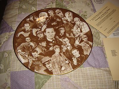 "Jeremy Brett - Studio Gallery ""Portrayals of Sherlock Holmes"" Bone China Plate"