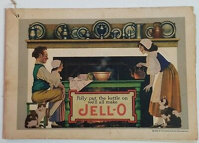 Vintage 1924 Maxfield Parrish Jello Advertising Recipe Book Genesee Pure Food