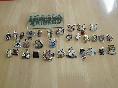 34 Police Pin Badges