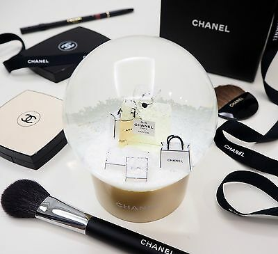Brand New CHANEL LUXURY Snow Globe VIP Gift Limited Edition