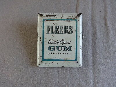 Fleers Gum Vintage Advertising Metal Clip