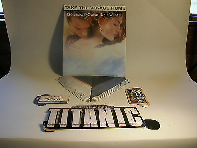 Titanic 1998 Counter Standee Display New Condition Never Used No Instructions