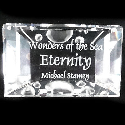 """ETERNITY TITLE PLAQUE (TURTLES) Swarovski 8"""" tall NEW IN BOX Wonders of the Sea"""